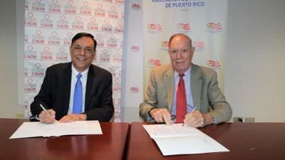 Unen esfuerzos la Asociación de Hospitales y la Universidad Ana G. Méndez de Gurabo