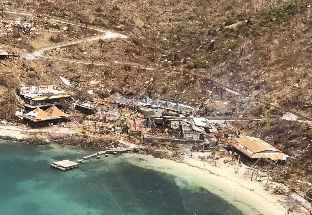 British Virgin Islands Hurricane Irma