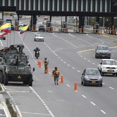 Colombianos protestan contra el gobierno y el abuso policial