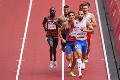 Wesley Vázquez correrá en Hungría
