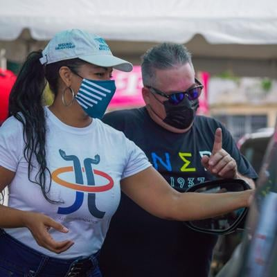 Fundación de José Juan Barea repartió ayuda a más de 400 familias en Arecibo