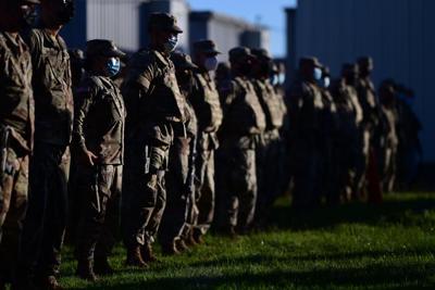 Movilizan soldados boricuas de la Guardia Nacional a Washington, D.C.