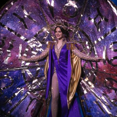 Puerto Rico se luce en la competencia de trajes típicos del Miss Universe