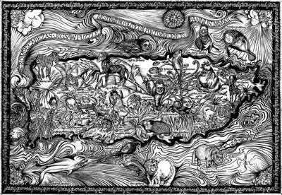 Centenar de artistas por la Liga de Arte