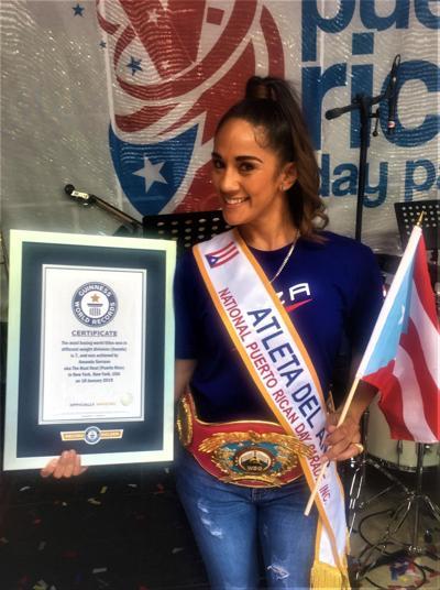 Reconocen gesta histórica de Amanda Serrano en el boxeo