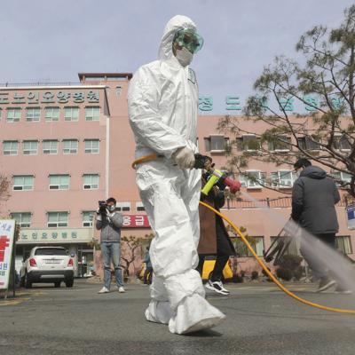 Corea del Sur se enfrenta a epidemia del coronavirus