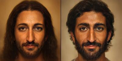 Recrean con inteligencia artifical la imagen de Jesús