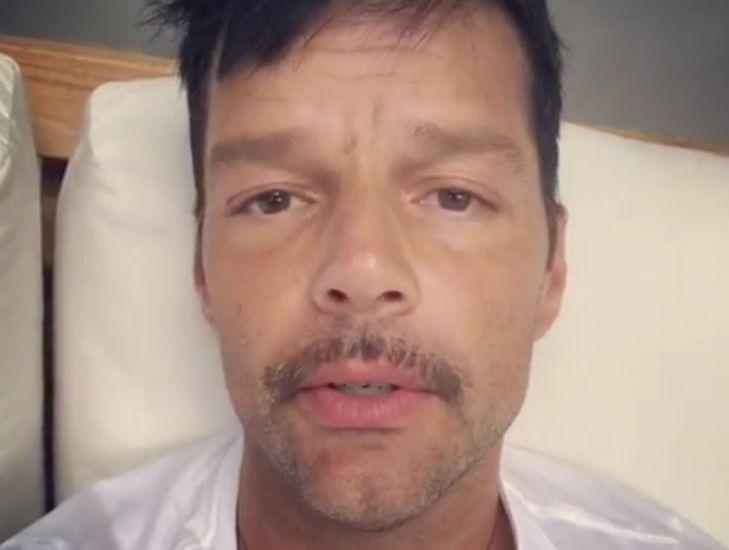 Ricky Martin se solidarizó con la gente de Puerto Rico