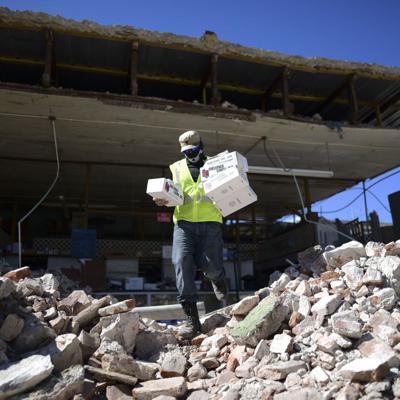 Buscan opciones para manejar los escombros