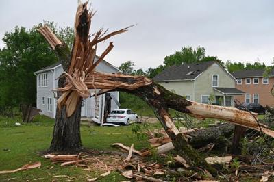 Varios tornados causan daños en Mississippi