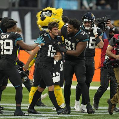 NFL: los Jaguars ponen fin a su racha de 20 derrotas