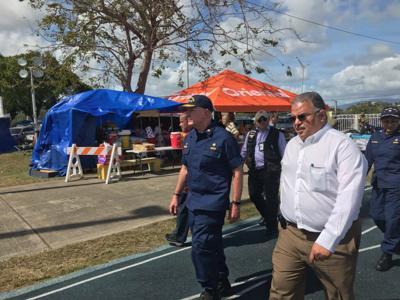 Salud federal visita los refugios