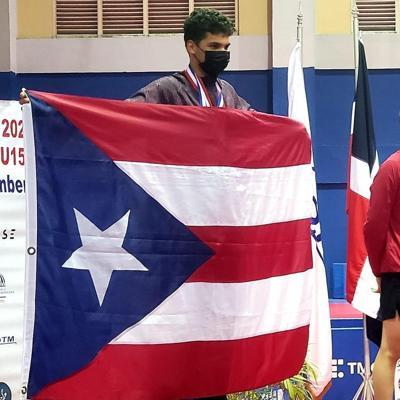 El tenimesista Ángel Naranjo conquista la medalla de oro en el Campeonato Panamericano juvenil