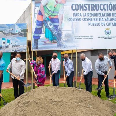 Cataño anuncia millonaria inversión para reconstrucción del coliseo Cosme Beitía