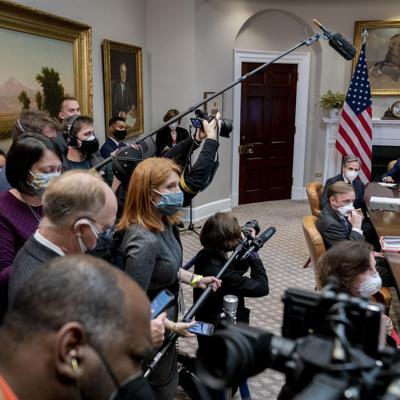 Satisfecho presidente de México tras reunión con Biden