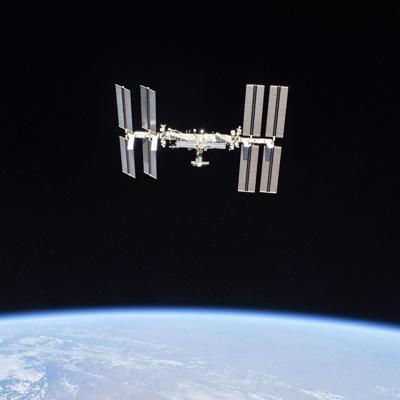 Estación Espacial se podrá observar cerca de la luna
