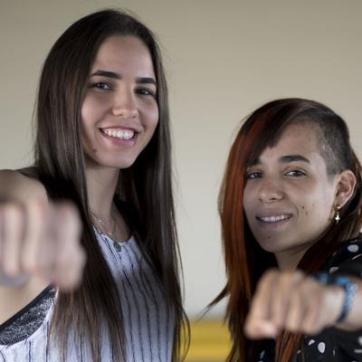 Histórica función de boxeo femenino en el Pedrín Zorrilla