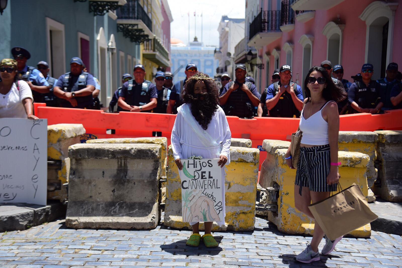En vivo: Sexto día de protestas en La Fortaleza