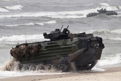 US Marines Fatal Accident