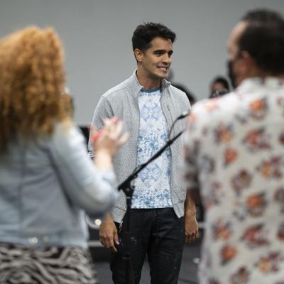 El elenco de In the Heights se prepara para su estreno en el Coliseo de Puerto Rico