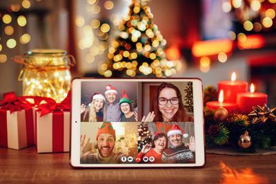 Mantenga buen ánimo en las  fiestas navideñas