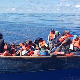 Interceptan a 32 dominicanos en la zona noroeste de la Isla