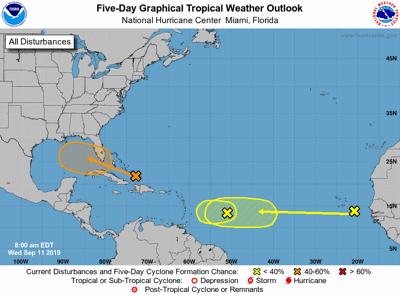 Sistema en ruta a Florida dejará lluvias en Bahamas