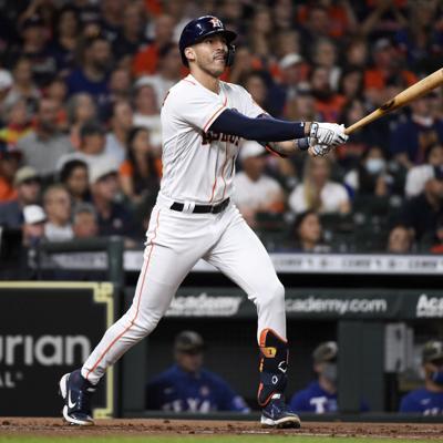 Correa y Tucker conducen a Astros a victoria sobre Rangers
