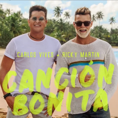 Ricky Martin y Carlos Vives le cantan a Puerto Rico