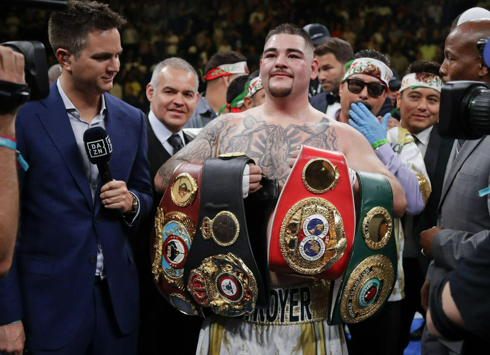 Boxeador Andy Ruiz Jr. visitará Puerto Rico