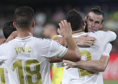 Doblete de Gareth Bale salva al Real Madrid