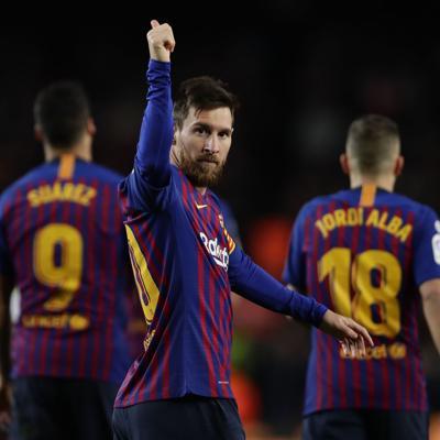 Messi Alcanza Los 400 Goles En La Liga Espaola Deportes