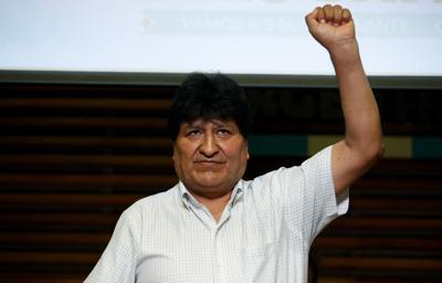 Evo Morales regresa a La Paz a más de un año de su renuncia