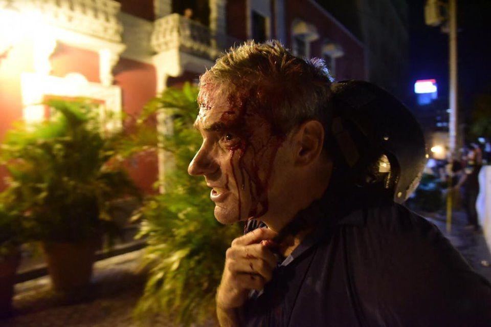 EN VIVO: Manifestación termina en violencia