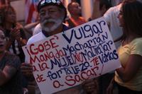 Cientos llegan hasta La Fortaleza en el cuarto día de protestas