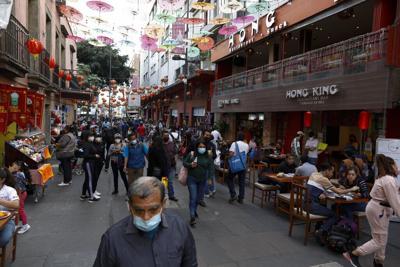 Virus Outbreak Mexico