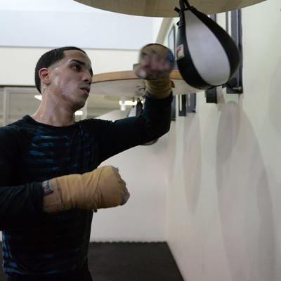 Centrado Manny Rodríguez para el duelo con Pantera Nery