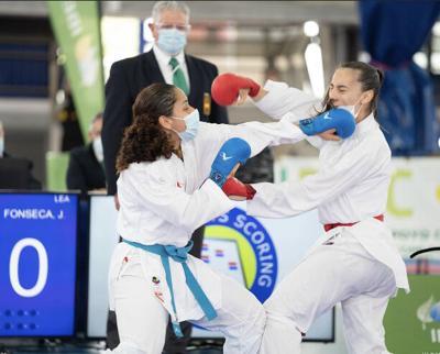 Karateca puertorriqueña se proclama campeona en España
