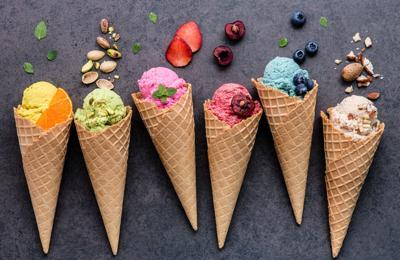 Domingo de helados...