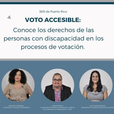 Educan sobre derecho al voto de la población de diversidad funcional
