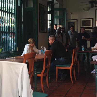 Zoé se reúne con Jaramillo frente a Fortaleza