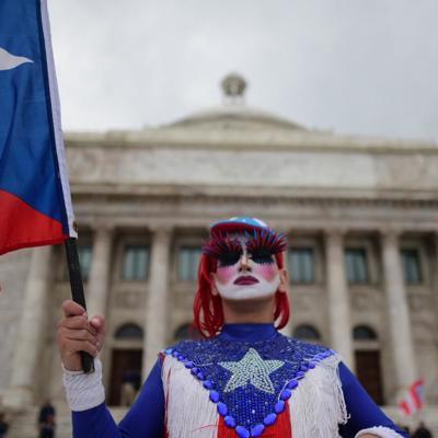 Comienzan a llegar manifestantes hasta El Capitolio
