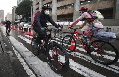 Bogotá fomenta uso de bicicletas para prevenir Covid-19