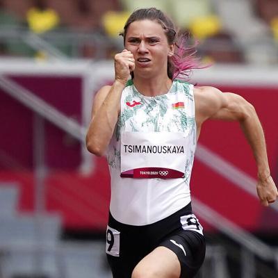 La atleta que estaba temerosa de regresar a Bielorrusia llega a Polonia