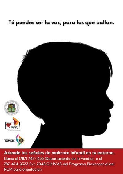 Desarrollan campaña para reconocer las señales de abuso infantil