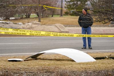 APTOPIX Emergency Landing Plane Debris