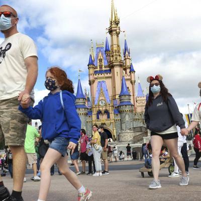 Será opcional el uso de mascarillas en Disney World en Florida
