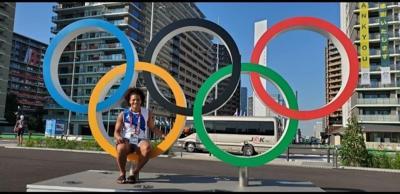 María Pérez: reina de los pines olímpicos en Tokio