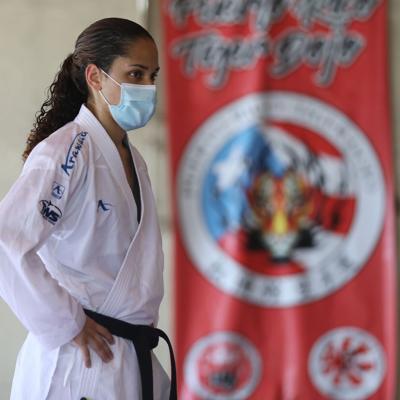 Janessa Fonseca terminó quinta en el Mundial de Karate