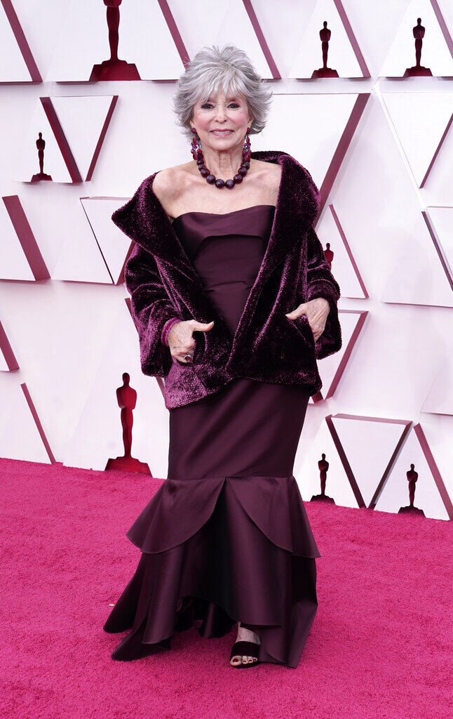 Rita Moreno deslumbra en los Oscar 2021